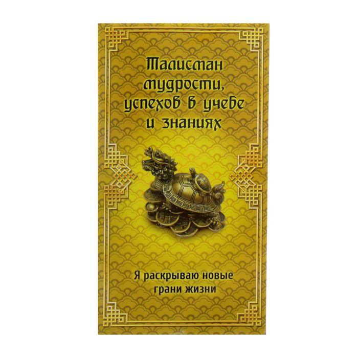 Талисман фэн-шуй в конверте «Талисман мудрости»