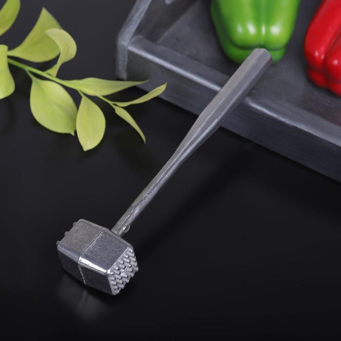 Молоток для мяса, из алюминия, 21,5 см - фото 2081362