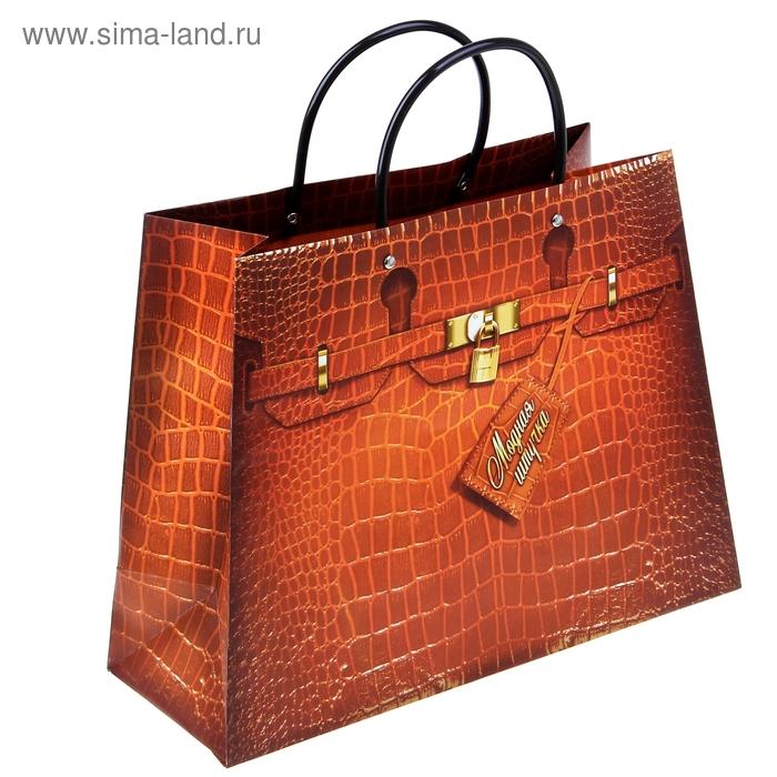 "Пакет-сумка ""Классик"", (ламинация)"