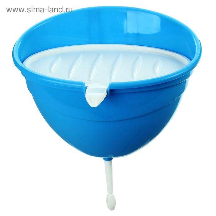 Рукомойник дачный 4 л, цвет синий