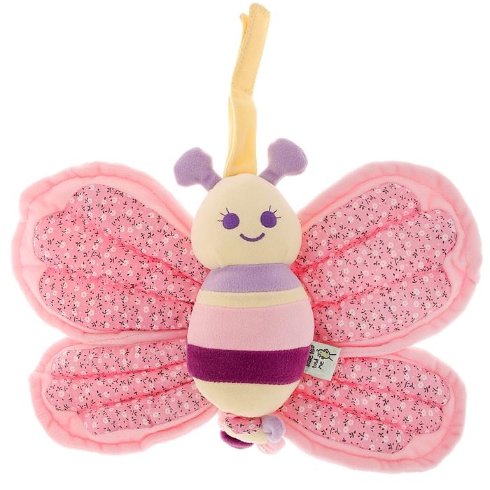 Игрушка музыкальная «Бабочка» с мерцающими крыльями