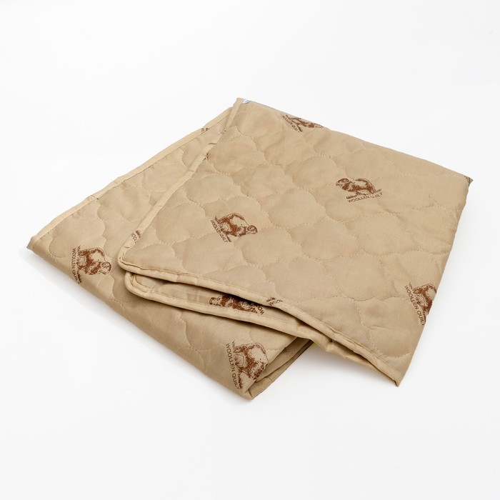 "Наматрасник Адамас ""Овечья шерсть"", размер 120х200 см, полиэстер, пакет - фото 63234"