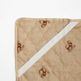 "Наматрасник Адамас ""Овечья шерсть"", размер 120х200 см, полиэстер, пакет - фото 63235"