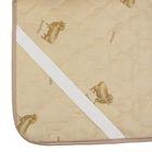 "Наматрасник Адамас ""Овечья шерсть"", размер 120х200 см, полиэстер, пакет - фото 63237"