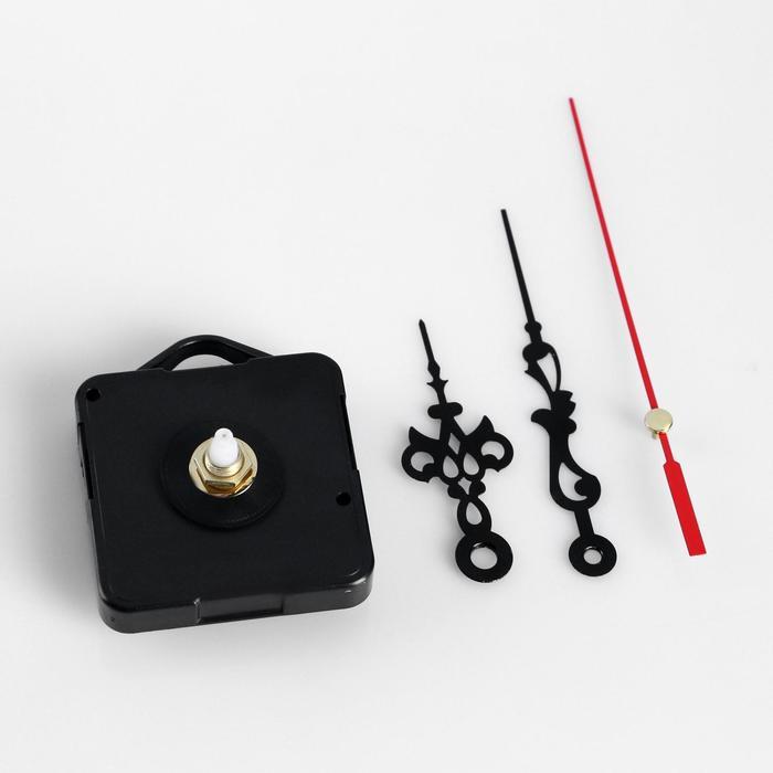 Набор в блистере: часовой механизм 3268 с подвесом + комплект витых стрелок, микс