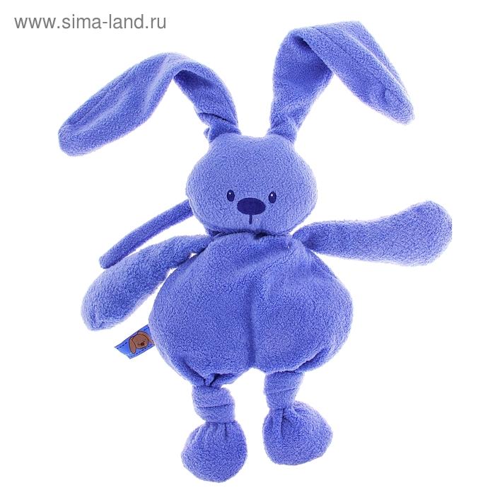 """Музыкальная мягкая игрушка """"Кролик Лапиду"""", цвет голубой"""