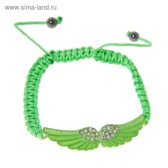 """Браслет-ассорти """"Лёгкость"""" флай, цвет зелёный"""