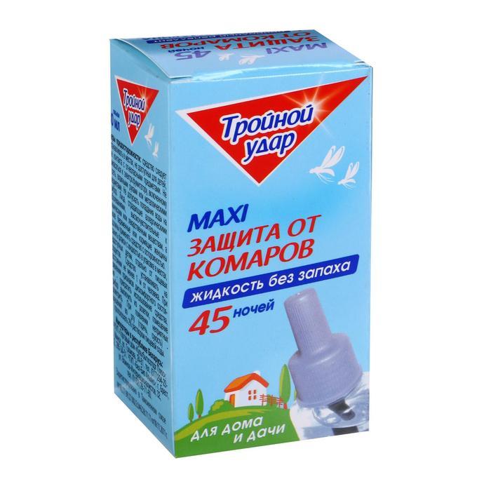 Жидкость от комаров Домовой Прошка флакон ТРОЙНОЙ УДАР