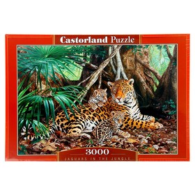 Пазл «Ягуары в джунглях», 3000 элементов