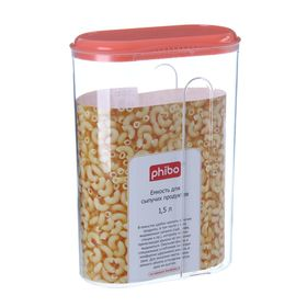 Container for bulk products 1.5 l, color MIX.
