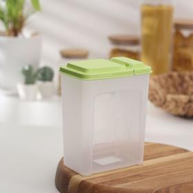 Емкость для сыпучих продуктов 1,75 л, цвета МИКС