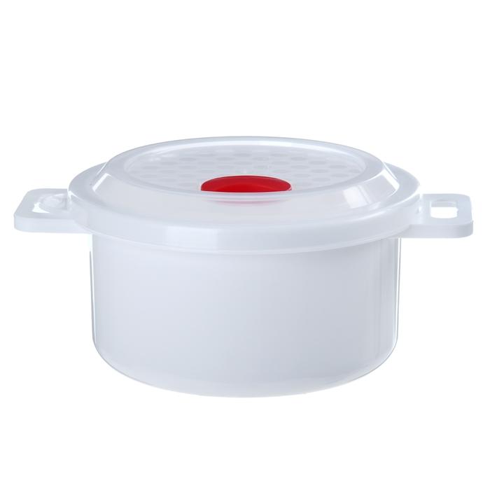 """Контейнер для холодильника и СВЧ, с крышкой 900 мл """"Традиция"""""""