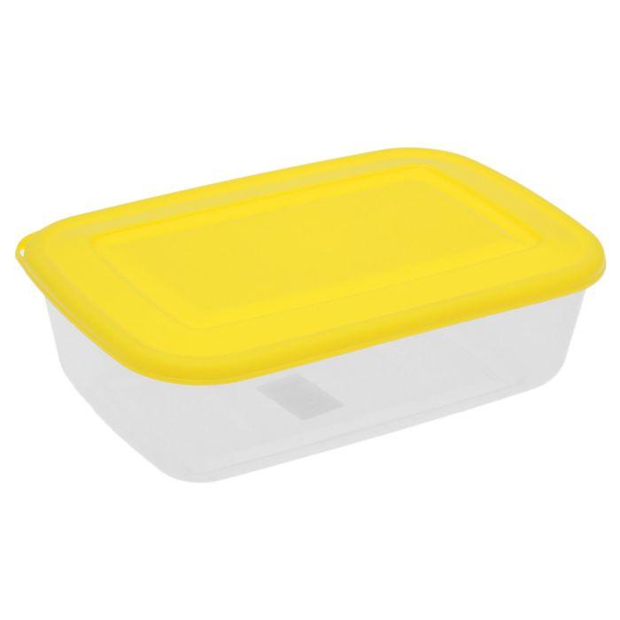 Контейнер пищевой 3,4 л, цвет МИКС