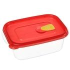 Контейнер пищевой 600 мл Air Free, цвет красный - фото 208081758