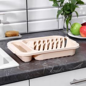 Сушилка для посуды phibo «Универсал», 34,5×24×7,2 см, цвет МИКС
