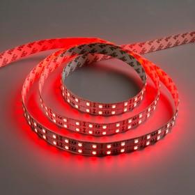 Светодиодная лента 12В, SMD5050, 5 м, IP33, 120 LED, 28.8 Вт/м, 10-12 Лм/1 LED, DC, КРАСНЫЙ