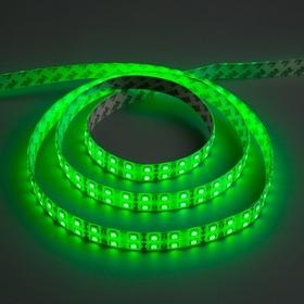 Светодиодная лента 12В, SMD5050, 5 м, IP65, 120 LED, 28.8 Вт/м, 10-12 Лм/1 LED, DC, ЗЕЛЁНЫЙ