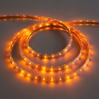 12V led strip light, SMD3528, 5m, IP68, 60 LED, 4.8 W/m, 6-7 LM/LED 1 DC, YELLOW