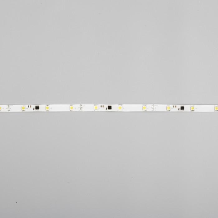 """Светодиодная лента """"Бегущий огонь"""" DC 12 В, 7.2Вт/м, 30SMD5050, 5м, IP65, автономная, БЕЛЫЙ 848578"""