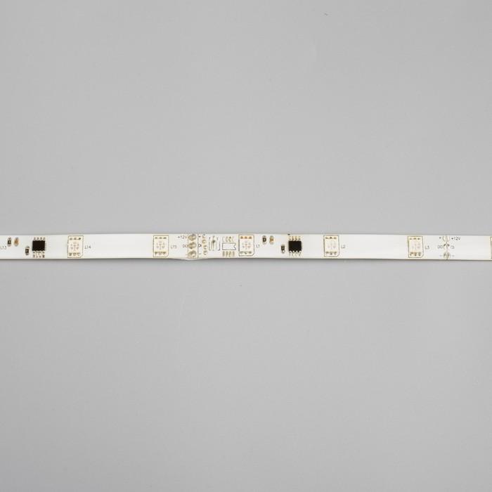 """Светодиодная лента """"Бегущий огонь"""" DC 12 В, 7.2Вт/м, 30SMD5050, 5м, IP65, автономная, КРАСНЫЙ 848581"""