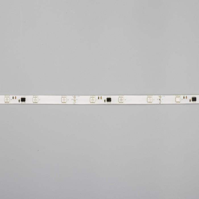 """Светодиодная лента """"Бегущий огонь"""" DC 12 В, 7.2Вт/м, 30SMD5050, 5м, IP65, автономная, ЖЁЛТЫЙ 848582"""