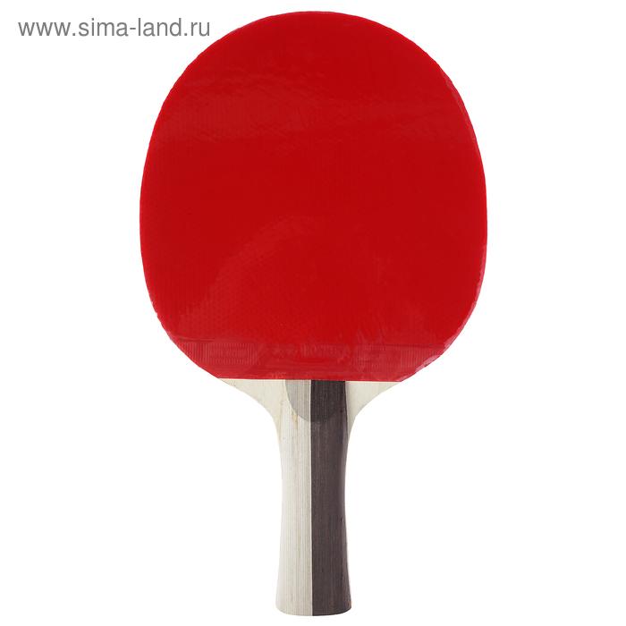 Ракетка для настольного тенниса BOSHIKA, 3 звезды, в чехле