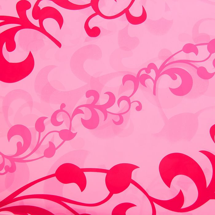 "Пленка ""Стебельки"", цвет розовый, 70 х 90 см"