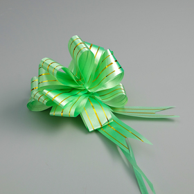 "Bow-ball No. 3 ""the Golden section"", the color green"