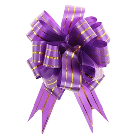 """Bow-ball No. 3 """"the Golden section"""", the color purple"""