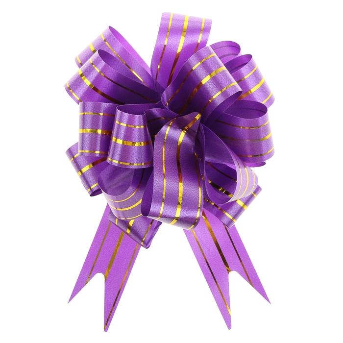 """Бант-шар №3 """"Золотое сечение"""", цвет фиолетовый"""