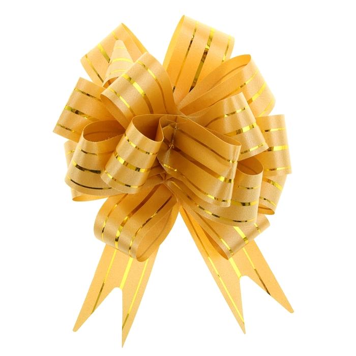 """Бант-шар №3 """"Золотое сечение"""", цвет желтый"""