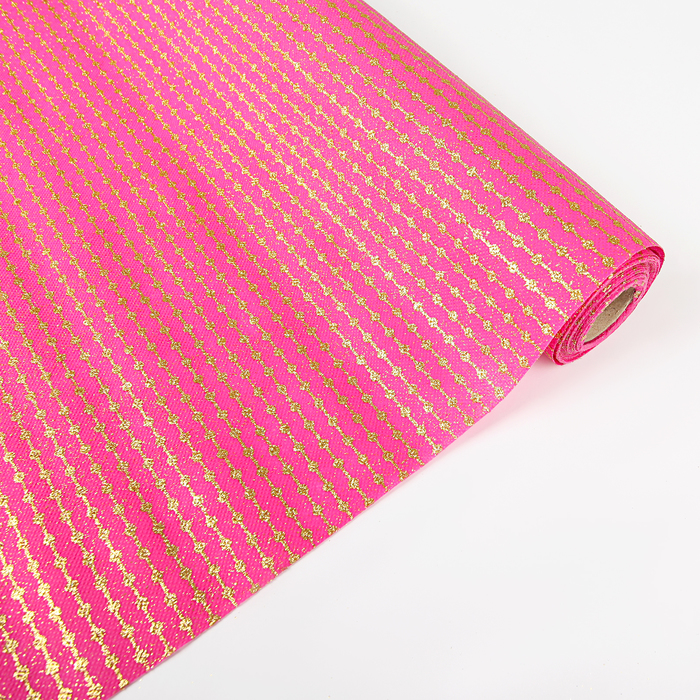 """Флизелин """"Нить"""", розовый, 0,48 х 4,5 м"""