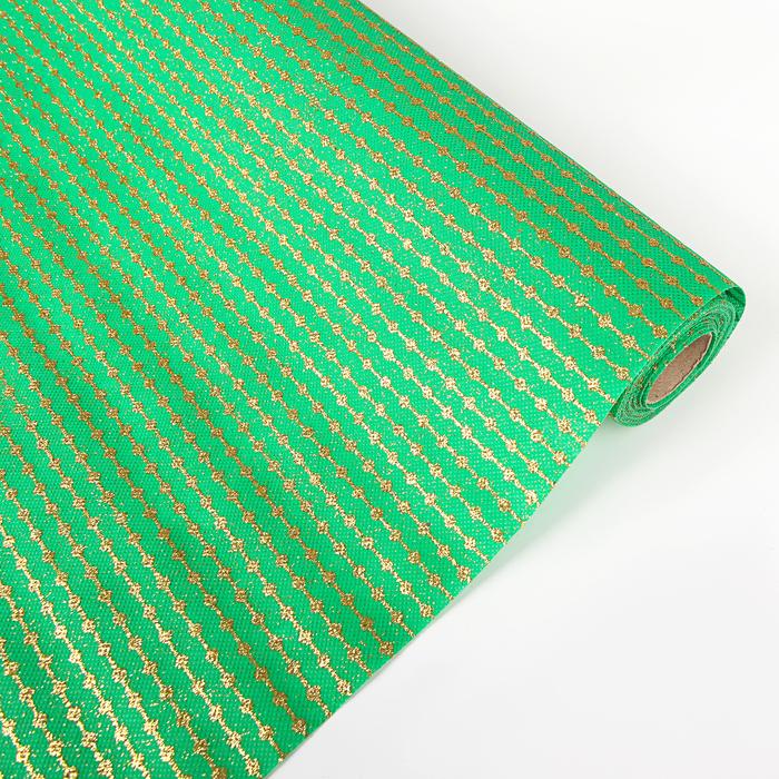 "Флизелин ""Нить"", зеленый, 0,48 х 4,5 м"