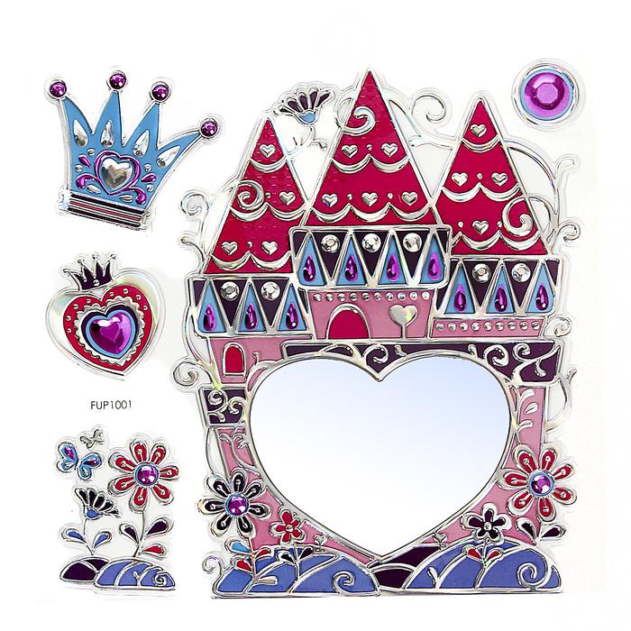 "Наклейка зеркальная ""Замок принцессы"""