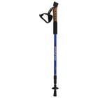 Палка для скандинавской ходьбы, телескопическая, 3 секции, алюминий, до 135 см, (1 шт) - фото 308234616
