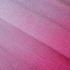 """Бумага креп """"Переход"""", цвет светло-розовый, 0,5 х 2,5 м"""