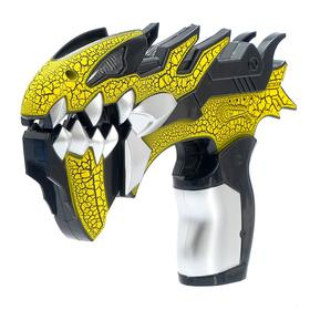 Пистолет «Атака монстров», световые и звуковые эффекты, работает от батареек, цвета МИКС