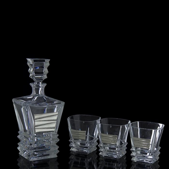 Набор для виски (графин, 3 бокала 250 мл.)