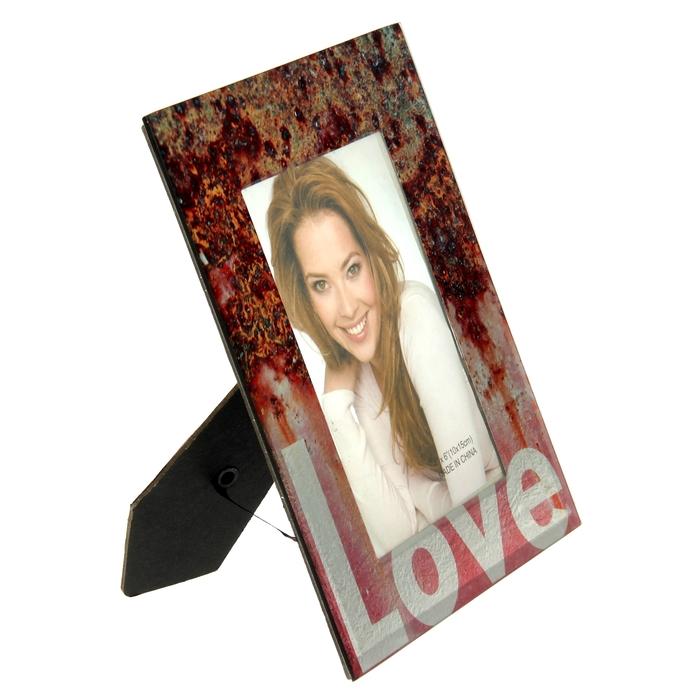 Фоторамка перламутровый блеск Love 10х15 см