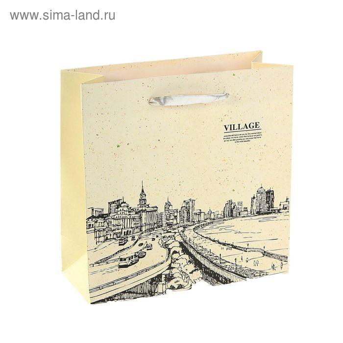 """Пакет ламинированный """"Вилла"""", цвет белый"""
