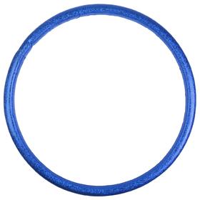 Обруч гимнастический «КОМФОРТ», стальной, d=90 см, ширина 5 см, 2,35 кг, цвета МИКС