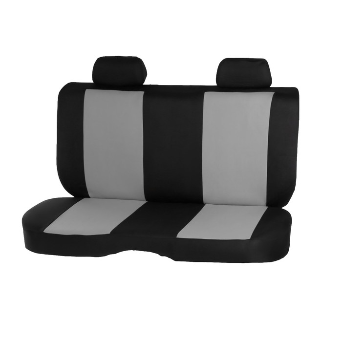 Авточехлы универсальные, набор 13 предметов, черно-серые