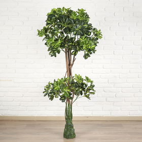 дерево искусственное двойной шар 155 см