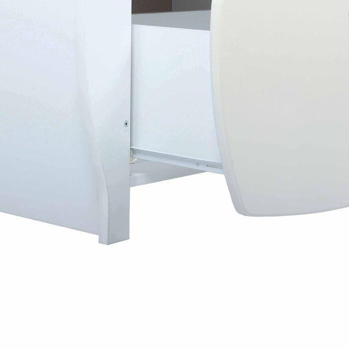 Комод детский пеленальный, 2 выдвижных ящика, цвет бежевый