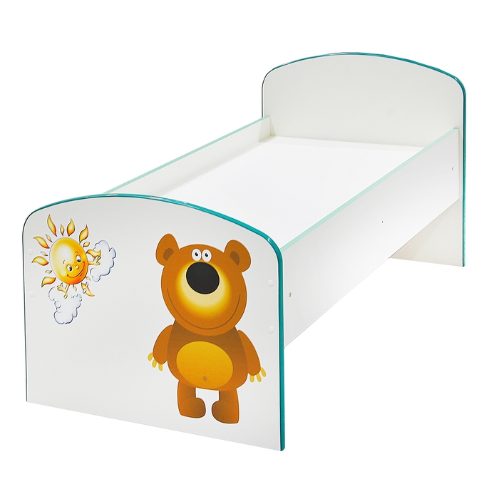 Детская кроватка «Солнышко и медвежонок», ЛДСП