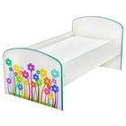 Детская кроватка «Цветочки», ЛДСП - фото 106533588