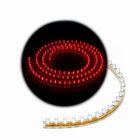 Светодиодная линейка, 120 см, 12 В, свет красный