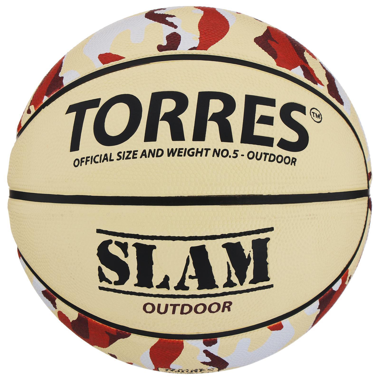 6538da79 Мяч баскетбольный Torres Slam, B00065, размер 5 (856721) - Купить по ...