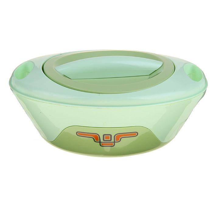 """Термокастрюля """"Инопланетная тарелка"""" 4в1 (внутри металл), объем: 0,5 л, 1 л, 1,5 л, 2 л, цвета МИКС"""