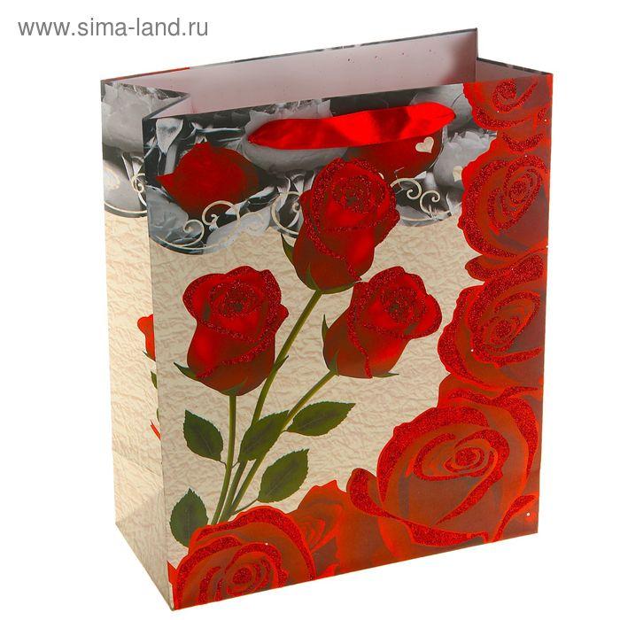 """Пакет ламинированный """"Королева цветов"""""""